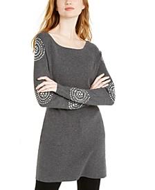 INC Medallion-Sleeve Tunic, Created for Macy's
