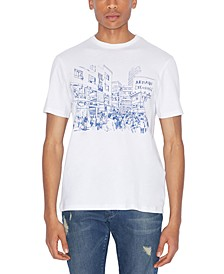 Men's Crowded Street Graphic T-Shirt