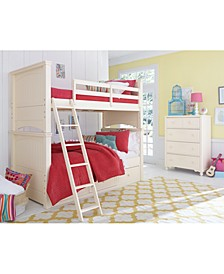 Summerset Twin over Twin Bunk Bed with Underbed Storage Drawer