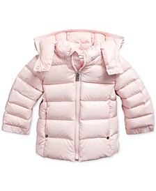 Baby Girl's Hooded Down Jacket