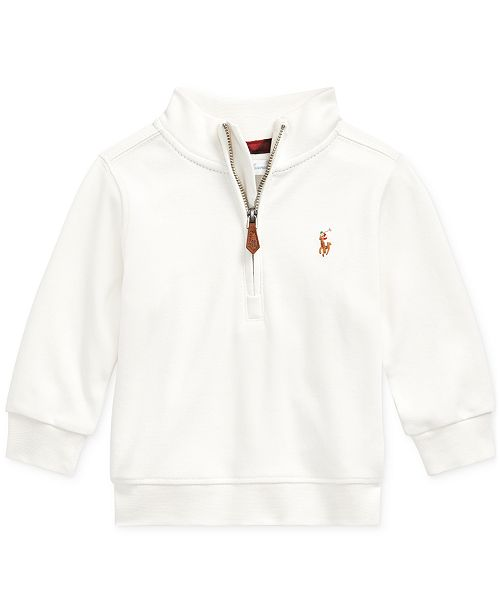 Polo Ralph Lauren Baby Boy's Cotton Interlock Pullover