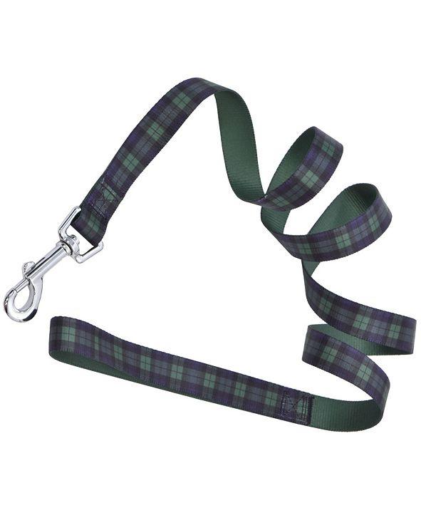 Parisian Pet Scottish Plaid Dog Leash
