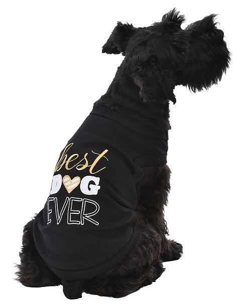 Parisian Pet Best Dog Ever Dog T-Shirt