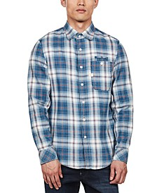 Men's Bristum Slim-Fit Flannel Plaid Shirt, Created for Macy's