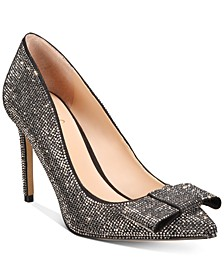 INC Women's Kalina Bling Bow Pumps, Created For Macy's