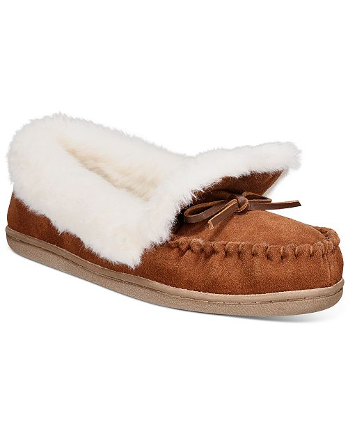 Charter Club Dorenda Moccasin Slippers, Created For Macy's
