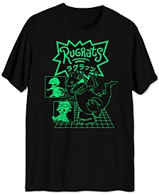 Reptar Rugrats Men's Graphic T-Shirt