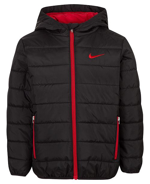 Nike Toddler Boys Hooded Puffer Jacket