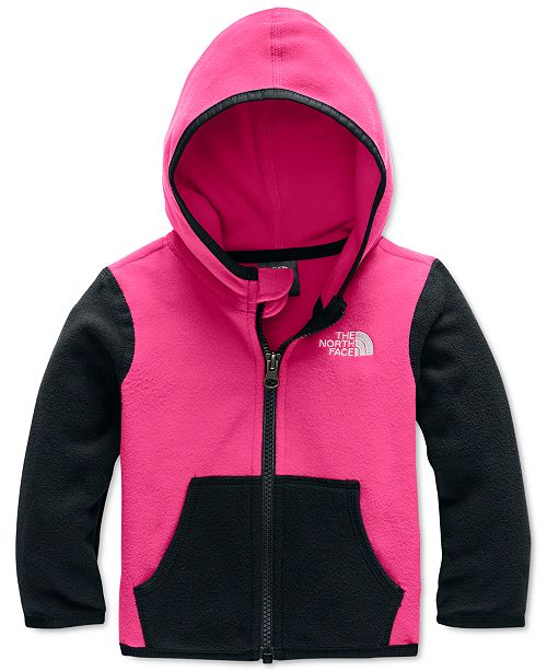 The North Face Baby Girls Glacier Zip-Up Hoodie Jacket
