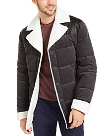Men's Corduroy Puffer Jacket, Created For Macy's