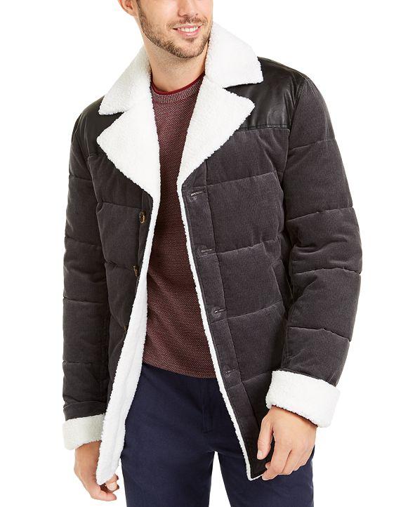 Tasso Elba Men's Corduroy Puffer Jacket, Created for Macy's