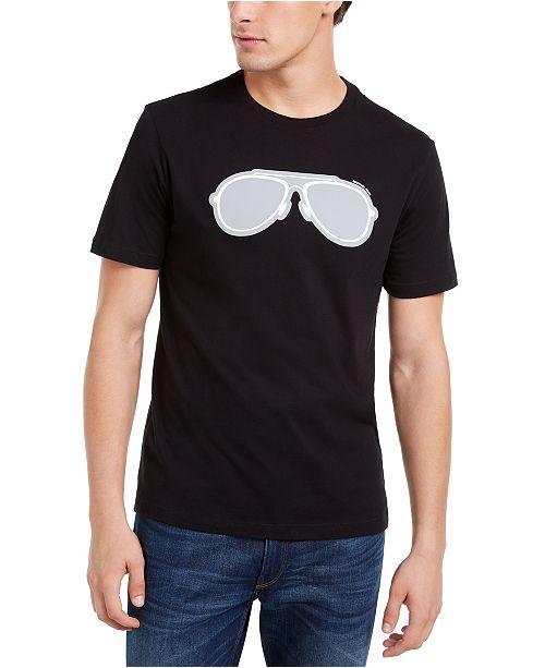 Michael Kors Men's Reflective Aviator Graphic T-Shirt