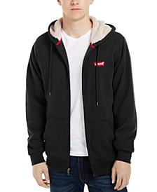 Men's Fleece-Lined Zip-Front Hoodie