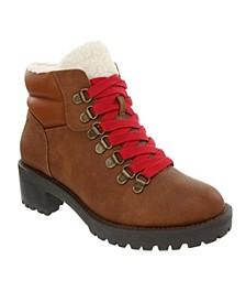 Women's Marisol Fuzzy Hiker Boots