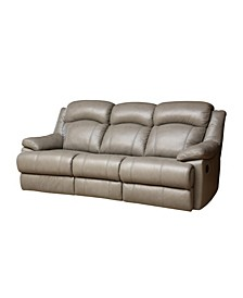 "Quentin 84"" Leather Recliner Sofa"