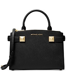 Karla Small East West Leather Satchel
