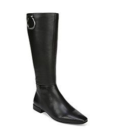 Naturalizer Carella High Shaft Boots Wide Calf