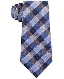 Men's Classic Gingham Check Tie