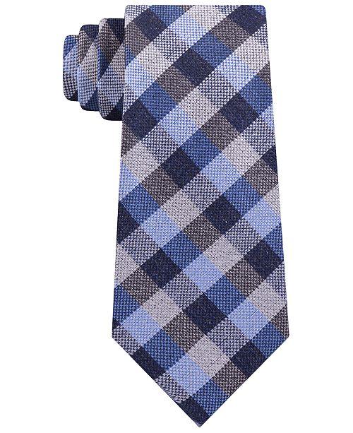 Michael Kors Men's Classic Gingham Check Tie