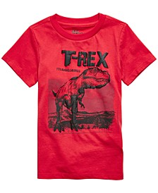 Toddler Boys Red T-Rex T-Shirt, Created For Macy's