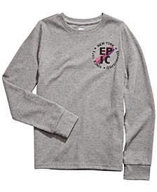 Big Boys Logo-Print Thermal T-Shirt, Created For Macy's