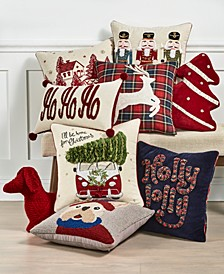 Novelty Decorative Pillow Collection, Created For Macy's