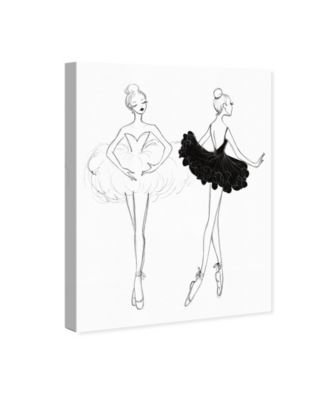 Ballerina Sketch Iv Canvas Art, 24