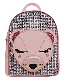 OMG! Accessories Classy Bear Critter Mini Backpack