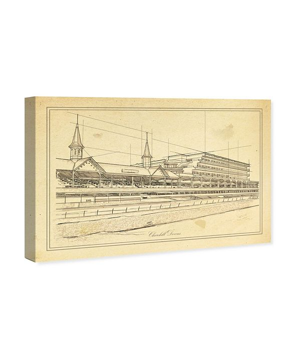 "Oliver Gal Churchill Downs Canvas Art, 45"" x 30"""