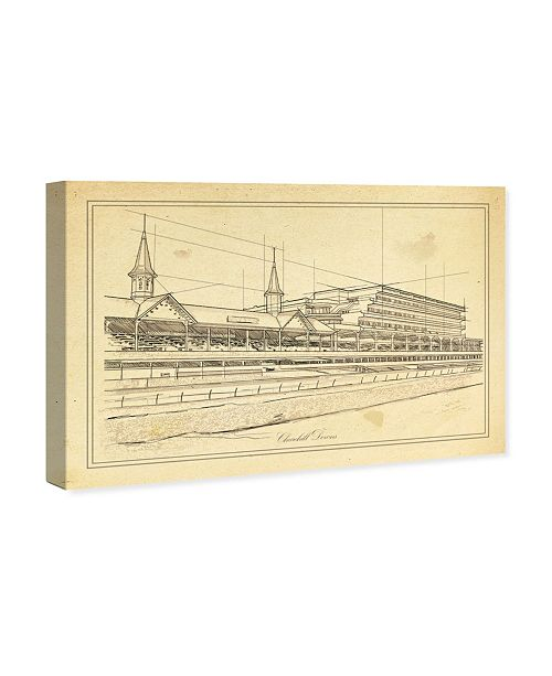 "Oliver Gal Churchill Downs Canvas Art, 36"" x 24"""
