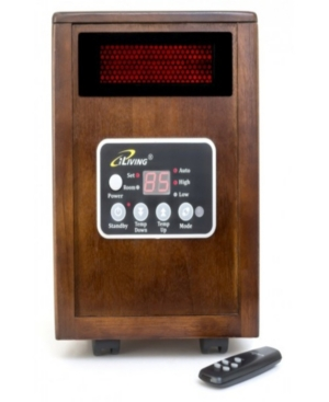 iLiving Infrared Portable Space Heater with Dual Heating System, 1500W