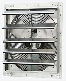 "18"" Variable Speed Shutter Exhaust Fan, Wall-Mounted"