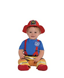 Baby Boys and Girls First Fireman Costume