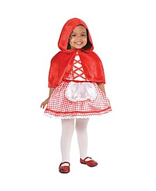 Infant Girls Lil Red Riding Hood Costume