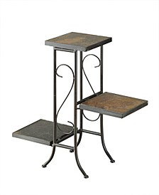 3 Tier Plant Stand With Slate Top