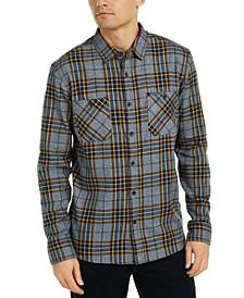 Men's Crance Plaid Flannel Shirt