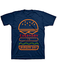 Jem Toddler Boys Everyday Is Burger Day T-Shirt