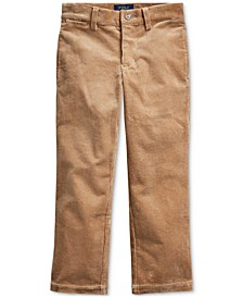 Toddler Boy's Slim Fit Stretch Corduroy Pants