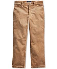 Little Boy's Slim Fit Stretch Corduroy Pants
