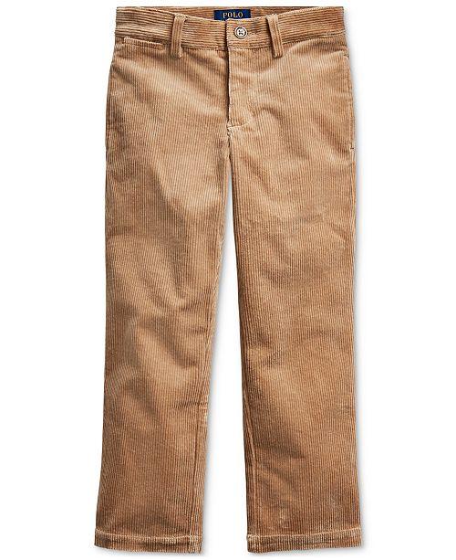 Polo Ralph Lauren Little Boy's Slim Fit Stretch Corduroy Pants