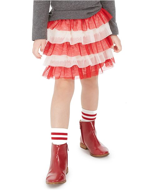 Epic Threads Toddler Girls Tiered Tulle Skirt, Created For Macy's