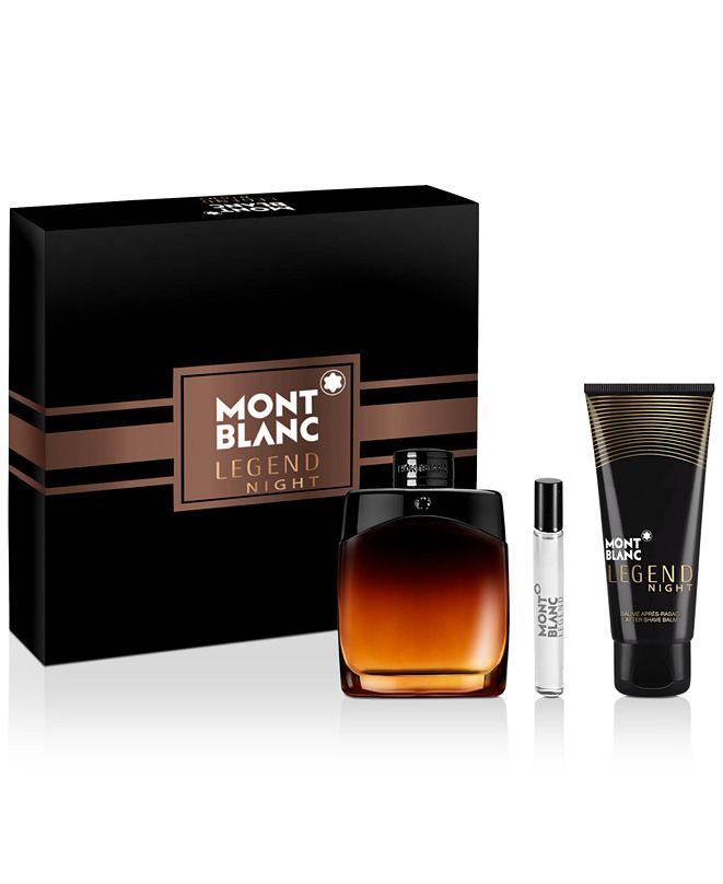 Montblanc Men's 3-Pc. Legend Night Eau de Parfum Gift Set