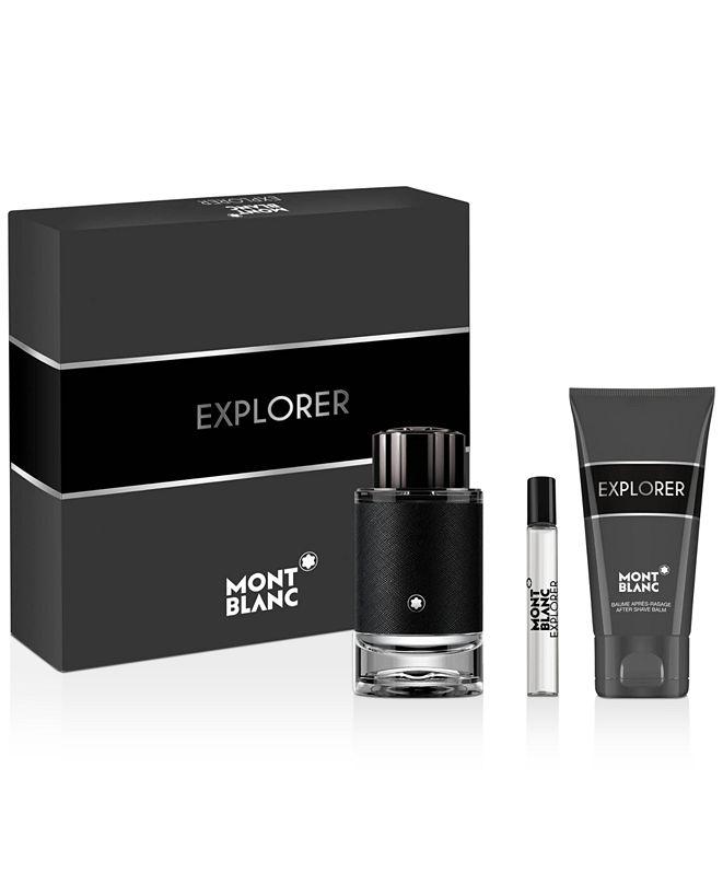 MONT BLANC Montblanc Men's 3-Pc. Explorer Eau de Parfum Gift Set