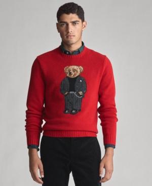 Polo Ralph Lauren Sweaters MEN'S SUIT BEAR WOOL BLEND SWEATER