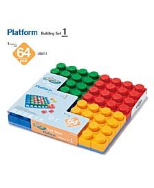 64 Basic Single Block and 1 Piece Set Platforms