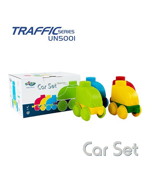 UNiPLAY Tensquare  42 Piece Set To Build 4 Cars