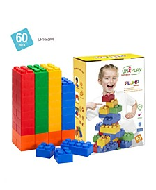 20 Large and 40 Small Plump Series 60 Piece Set