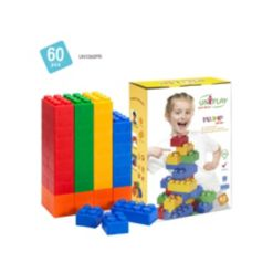 UNiPLAY 20 Large and 40 Small Plump Series 60 Piece Set