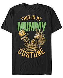 Universal Monsters Men's My Mummy Halloween Costume Short Sleeve T-Shirt