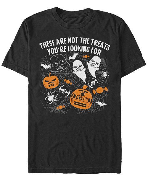 Fifth Sun Star Wars Men's Happy Halloween Treats Short Sleeve T-Shirt